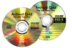Archival Gold CD-R/DVD-R