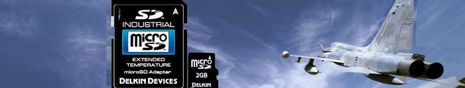 産業用microSD 工業用microSD