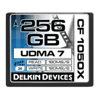 256GB CF 1050X UDMA7シネマメモリーカード [DDCF1050-256GB]