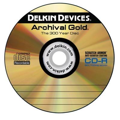 アーカイブゴールドCD-R DVD-R BD-R