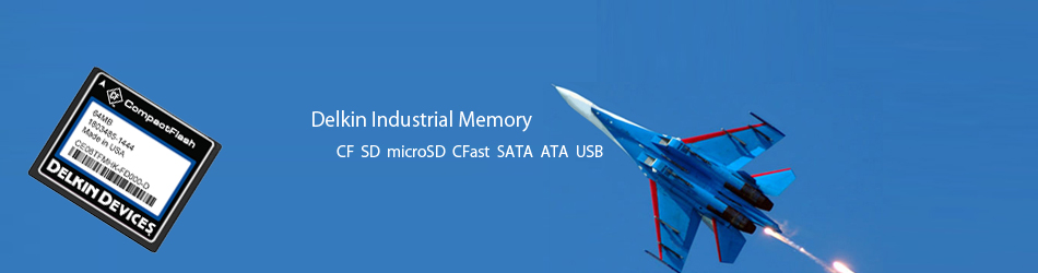 Delkin 工業用SD CF microSD