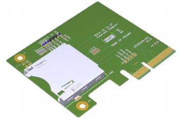 CFexpress typeB PCIe I/F カードリーダ